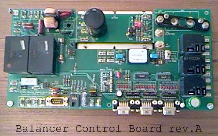 Battery Balancer Relay Board, rev.A