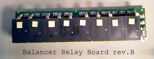 Battery Balancer Relay Board, series 2