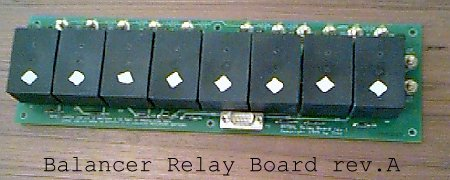 Battery Balancer Control Board, rev.A