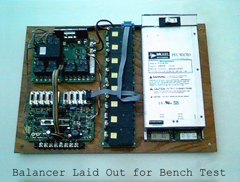 Complete Battery Balancer Breadboard