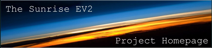 The Sunrise EV2 Project Homepage
